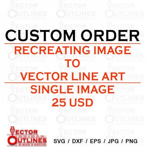 Custom order for 25 USD Single File conversion