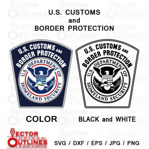 U.S. Customs and Border Protection badge