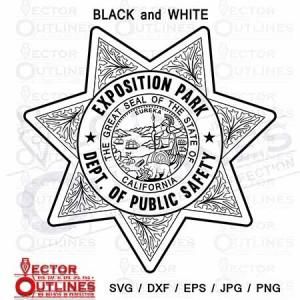 California Highway Patrol Exposition park Dept of public safety