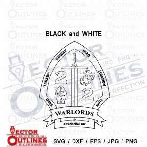 2nd Battalion 2nd Marine insignia