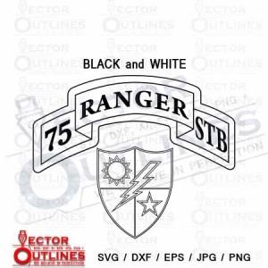 75 Ranger Stb svg cnc cut file